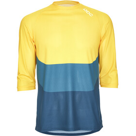 POC Essential Enduro Bike Jersey Shortsleeve Men yellow/blue